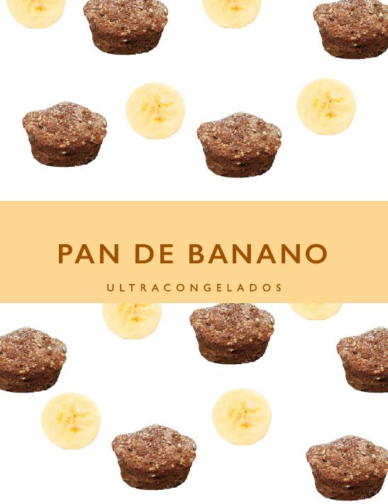 Pan de banano 60grs