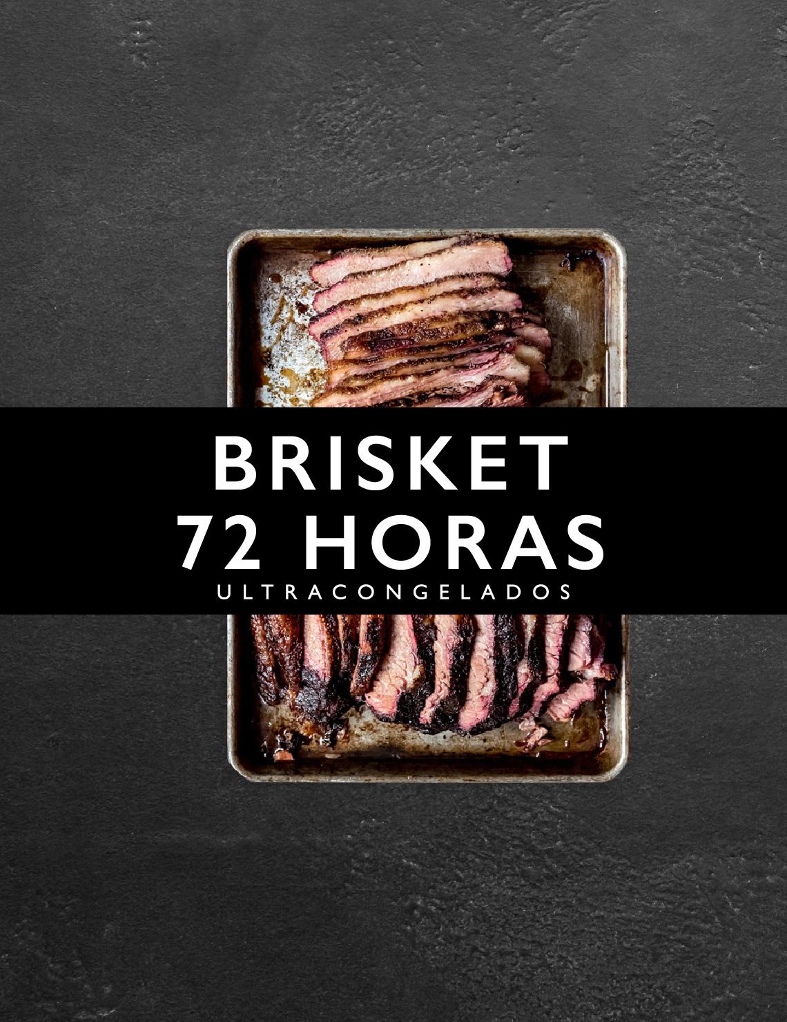 Brisket 72 horas