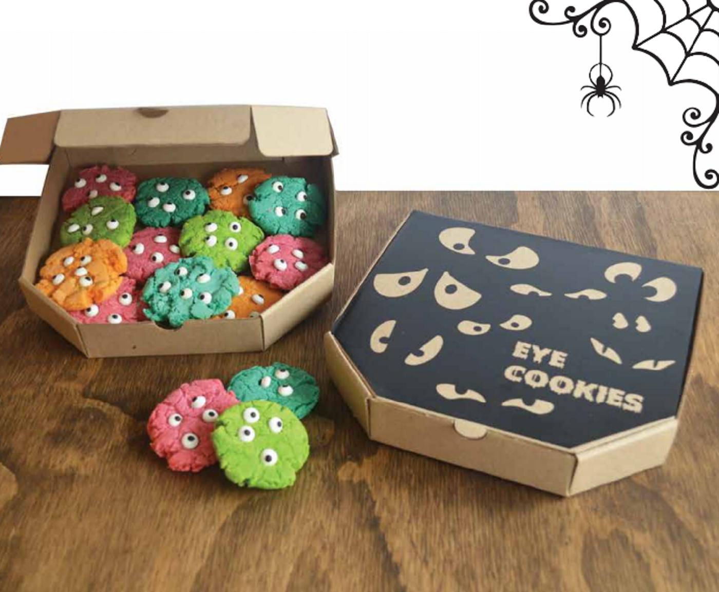 Eye cookies - Happy Halloween