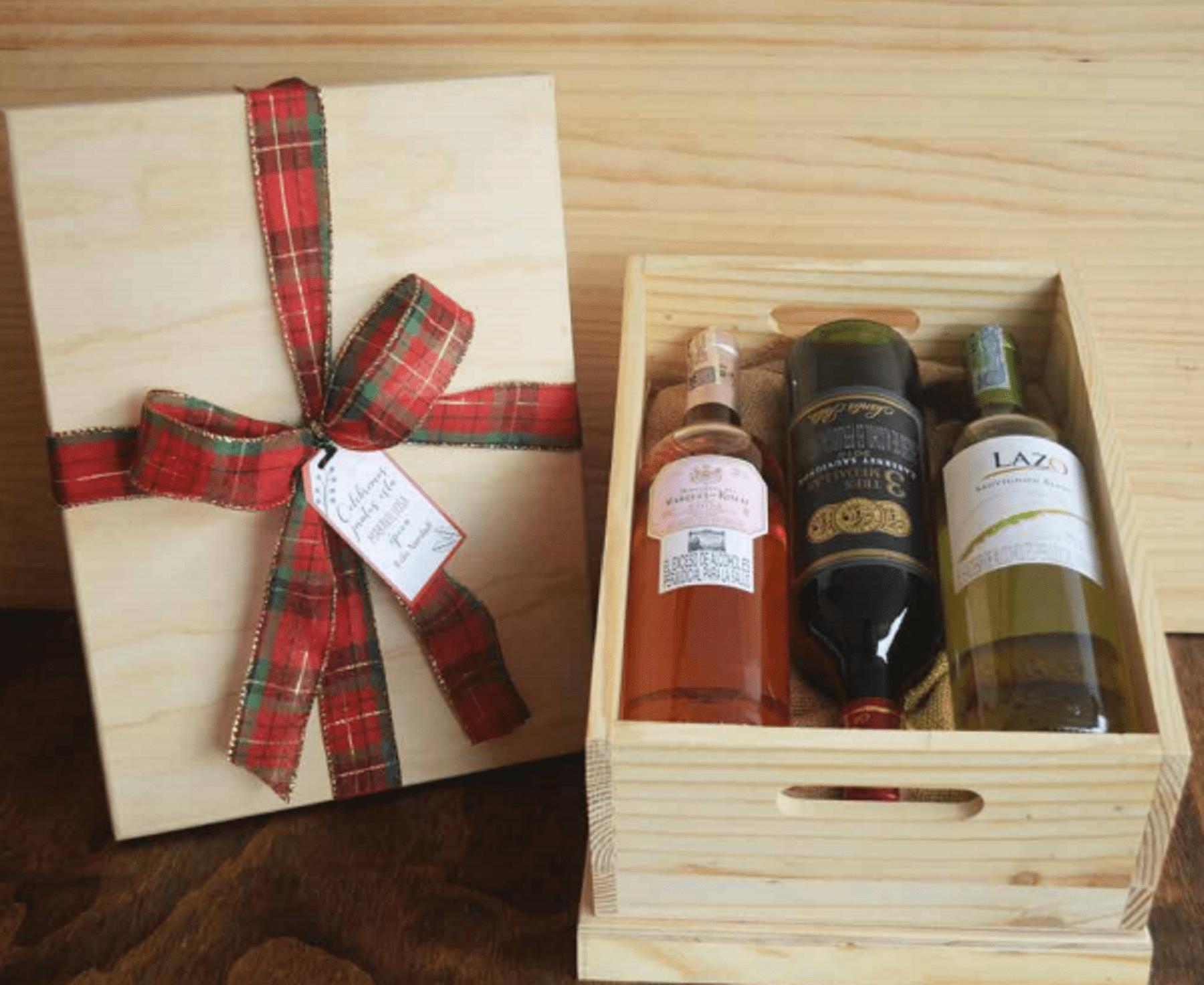 Trilogía de vinos - Caja